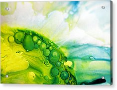 Acrylic Print featuring the photograph Fluidism Aspect 35 Photography by Robert Kernodle