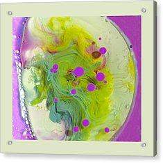 Fluidism Aspect 459 Frame Acrylic Print by Robert Kernodle