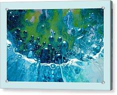 Fluidism Aspect 52 Frame Acrylic Print