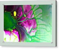 Fluidism Aspect 524 Frame Acrylic Print