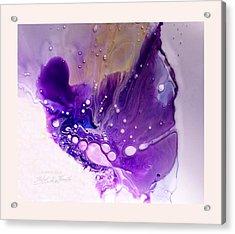 Fluidism Aspect 602 Frame Acrylic Print by Robert Kernodle