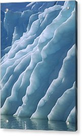 Fluted Edges Of Newly Rolled Acrylic Print by Colin Monteath