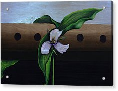 Fluted Floer Acrylic Print