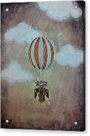 Fly Acrylic Print by Salwa  Najm