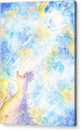 Flying Away Acrylic Print by Asida Cheng