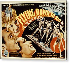 Flying Down To Rio, Fred Astaire Acrylic Print by Everett