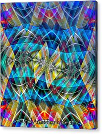 Flying Kites Acrylic Print