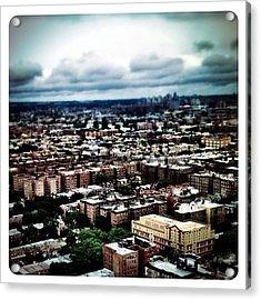 Flying Over Queens Acrylic Print