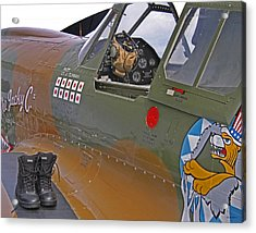 Flying Tigers 02 Acrylic Print by Jeff Stallard