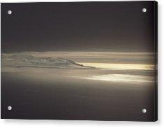 Fog And Sunlight Over Polar Acrylic Print by Gordon Wiltsie