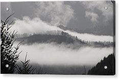 Acrylic Print featuring the photograph FOG by Katie Wing Vigil