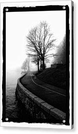 Foggy Day V-6 Acrylic Print by Mauro Celotti