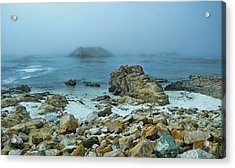 Acrylic Print featuring the photograph Foggy Morning On The Coast by Renee Hardison