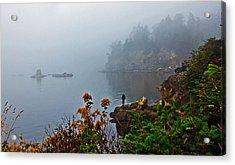 Foggy Morning Acrylic Print by Robert Bales