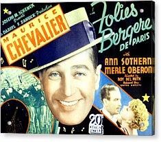 Folies Bergere De Paris, Aka Folies Acrylic Print by Everett