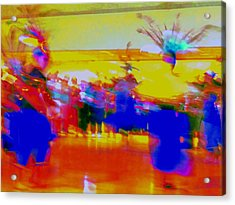 Folklorico 1 Acrylic Print by Randall Weidner