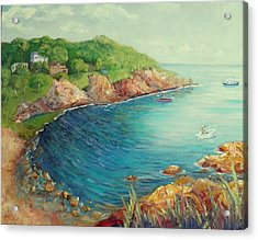 Folly Cove Landing  Acrylic Print