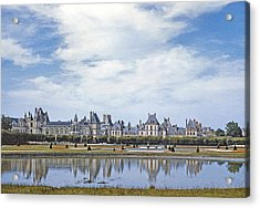 Fontainebleau Palace  Acrylic Print by Chuck Staley