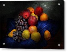 Food - Fruit - Fruit Still Life  Acrylic Print by Mike Savad