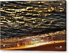 Fools Gold Acrylic Print