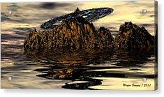 Fools Gold Acrylic Print by Wayne Bonney