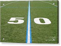Football Field Fifty Acrylic Print