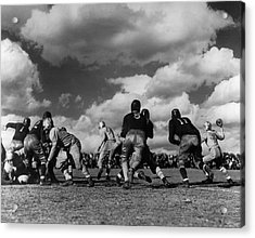 Football Game Acrylic Print by George Marks