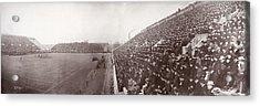 Football, Panorama Of The Harvard - Acrylic Print by Everett