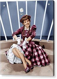For Me And My Gal, Judy Garland, 1942 Acrylic Print by Everett