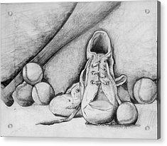 For The Love Of Baseball Acrylic Print by Shelbi Ummel