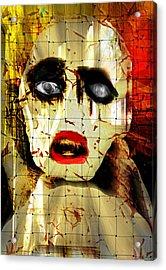 Forbidden Acrylic Print by Rc Rcd