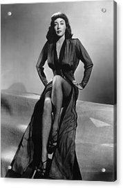 Force Of Evil, Marie Windsor, 1948 Acrylic Print by Everett