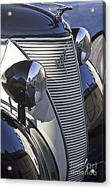 Ford Eifel Cabrio 1939 Classic Car Acrylic Print by Heiko Koehrer-Wagner