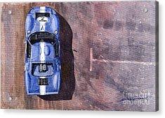 Ford Gt40 Leman Classic Acrylic Print by Yuriy  Shevchuk