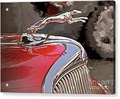 Ford Hound Acrylic Print by Gwyn Newcombe