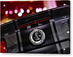 Ford Mustang Shelby Gt500 Super Snake  Acrylic Print by Gordon Dean II