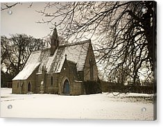 Ford, Northumberland, England Country Acrylic Print by John Short
