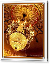 Ford Theater Candelier Acrylic Print