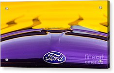 Ford Truck Acrylic Print by Ursula Lawrence
