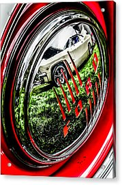 Fords Acrylic Print by Pattie  Stokes