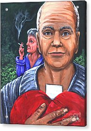 Foreplay To A Heart Attack Acrylic Print