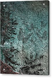 Forest Abstract Acrylic Print by Eena Bo
