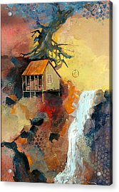 Forest Bungalow Acrylic Print