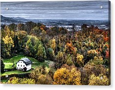 Forest Cottage Acrylic Print by Anthony Citro