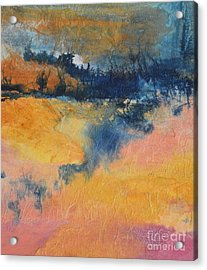 Forest Edge Acrylic Print by Barbara Tibbets