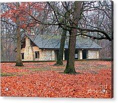 Forest Field House 1 Acrylic Print by Cedric Hampton