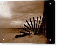 Forgotten Beach Acrylic Print