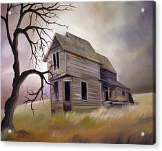 Forgotten But Not Gone Acrylic Print by James Christopher Hill