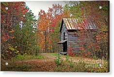 Forgotten Gristmill Acrylic Print