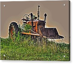Acrylic Print featuring the photograph Forgotten IIi by William Fields
